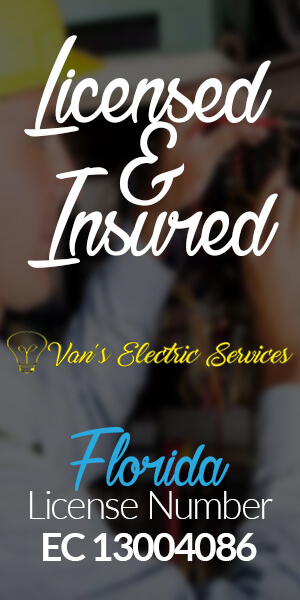 Vans-Electric Licensed and Insured